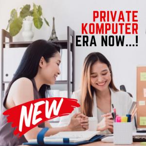 BARU! Private Komputer Persiapan Kerja, 1X Pertemuan Langsung Cakap Komputer